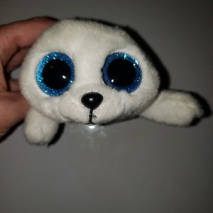 Beanie boo icy white baby seal ty
